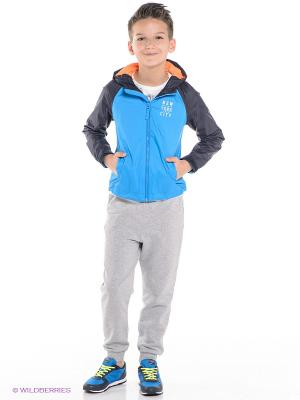 Куртка Tommy Hilfiger. Цвет: голубой, темно-синий