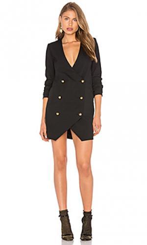 Платье блейзер Michelle Mason. Цвет: черный