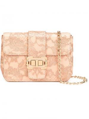 Средняя сумка на плечо Bianca Monique Lhuillier. Цвет: розовый и фиолетовый