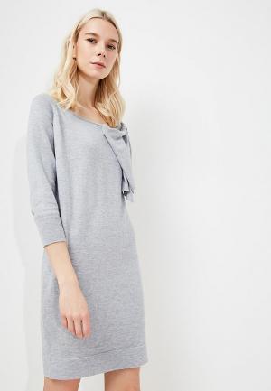 Платье Liu Jo Jeans. Цвет: серый
