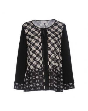 Блузка CALALUNA. Цвет: черный