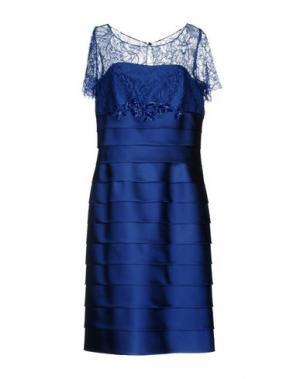 Платье длиной 3/4 CAILAN'D. Цвет: синий