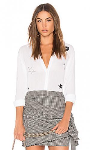 Рубашка silvia Lauren Moshi. Цвет: белый