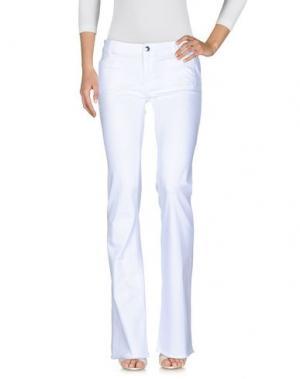 Джинсовые брюки THE SEAFARER. Цвет: белый