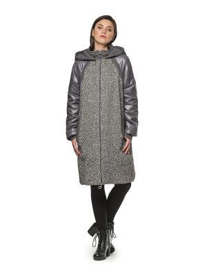 Пальто HELMIDGE. Цвет: серый