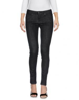 Джинсовые брюки JIJIL. Цвет: черный