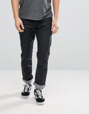 Voi Jeans Джинсы классического кроя с покрытием. Цвет: черный