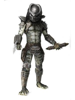 Фигурка Predators 2 - 1/4 Scale Series 1 Warrior Neca. Цвет: черный, белый, серый