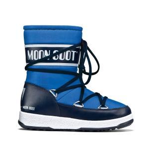 Сапоги WE SPORT MID JR MOON BOOT. Цвет: синий
