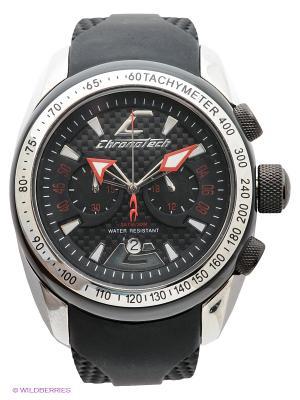 Часы Chronotech. Цвет: черный