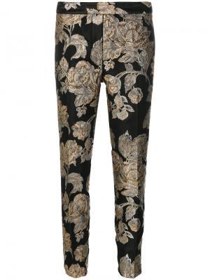Jacquard trousers Christian Pellizzari. Цвет: чёрный