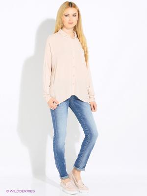 Блуза Rosa&Friends. Цвет: бледно-розовый