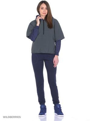 Анорак ICON PADDED SWEATSHIRT Adidas. Цвет: темно-серый