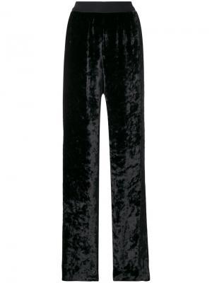 Расклешенные брюки Maison Margiela. Цвет: чёрный