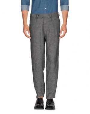 Повседневные брюки NOSTRASANTISSIMA. Цвет: серый