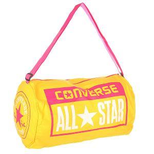 Сумка спортивная  Legacy Duffel Yellow Converse. Цвет: желтый