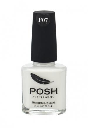 Лак для ногтей Posh. Цвет: белый