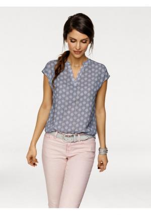 Блузка B.C. BEST CONNECTIONS. Цвет: серый/розовый