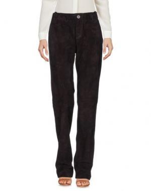 Повседневные брюки STOULS. Цвет: темно-коричневый