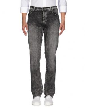Джинсовые брюки WRANGLER. Цвет: серый