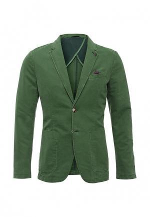 Пиджак United Colors of Benetton. Цвет: зеленый