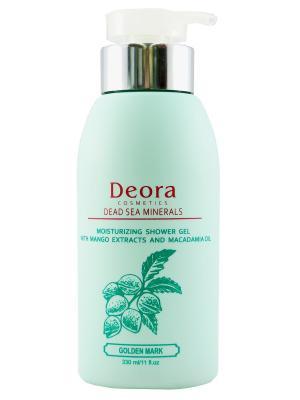 Гель для душа с экстрактом манго и маслом макадамии, 330 мл. Deora Cosmetics. Цвет: бежевый
