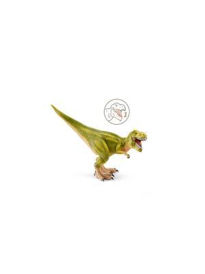 Тиранозавр Рекс SCHLEICH. Цвет: салатовый