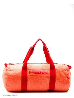 Сумка Freddy. Цвет: оранжевый
