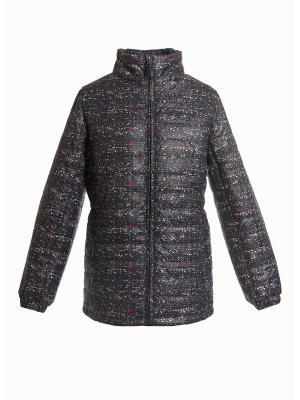Куртка для девочки AVESE. Цвет: черный