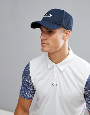 Oakley Темно-синяя бейсболка с логотипом Golf Ellipse. Цвет: темно-синий