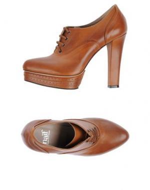 Обувь на шнурках NAIF. Цвет: желто-коричневый