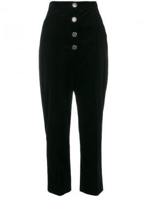 Строгие брюки Papillon Temperley London. Цвет: чёрный
