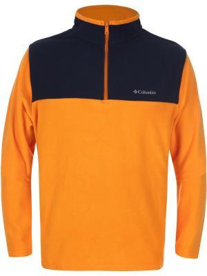 Джемпер Columbia. Цвет: оранжевый