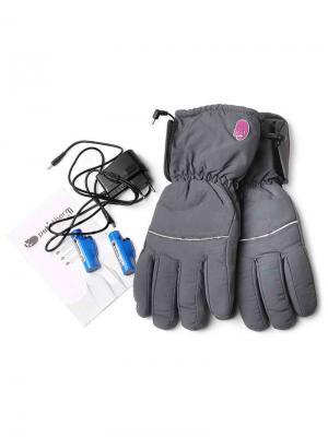 Перчатки GU910 Pekatherm. Цвет: черный, серый