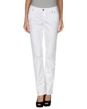 Повседневные брюки SIVIGLIA WHITE. Цвет: белый