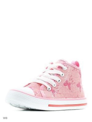 Кеды TRIEN. Цвет: розовый