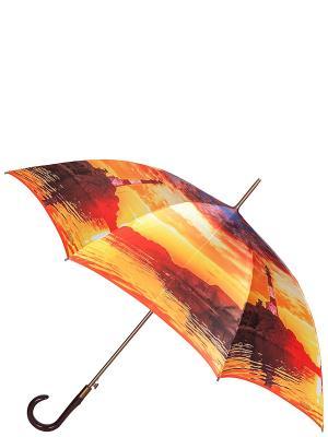 Зонт Eleganzza. Цвет: лазурный, красный, оранжевый