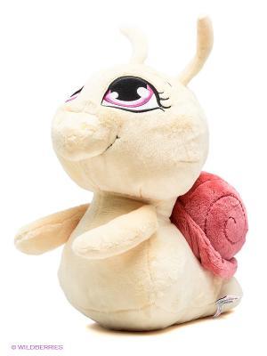 Мягкая игрушка Улитка NICI. Цвет: молочный, розовый