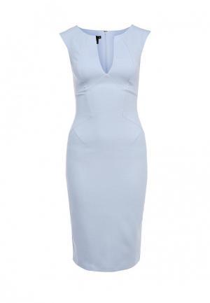 Платье Hybrid. Цвет: голубой