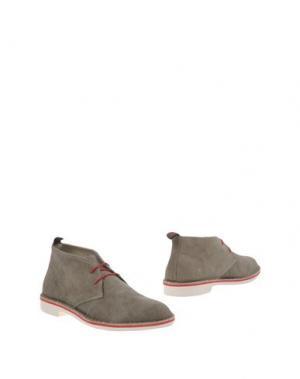 Полусапоги и высокие ботинки WALLY WALKER. Цвет: хаки