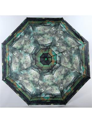 Зонт Trust. Цвет: серо-зеленый, светло-коричневый, черный