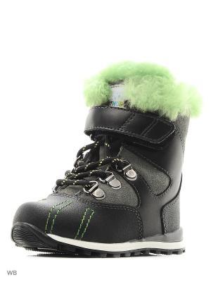 Ботинки ортопедические ORTHOBOOM. Цвет: серый, зеленый