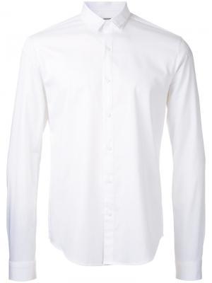 Рубашка на пуговицах Wooyoungmi. Цвет: белый