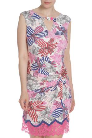 Платье VDP. Цвет: цветной