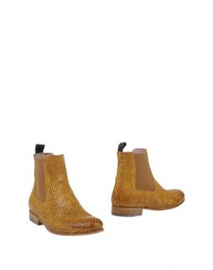 Полусапоги и высокие ботинки CORVARI. Цвет: охра