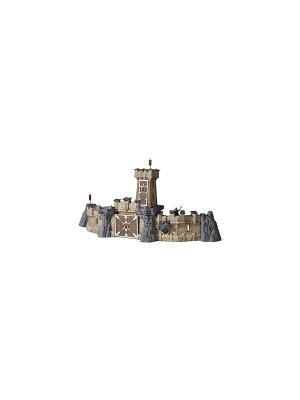 Набор Рыцарский замок SCHLEICH. Цвет: серо-коричневый