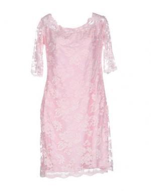 Короткое платье BALENSI. Цвет: розовый