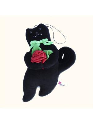 Мягкая игрушка Кот Презент 9.270.4 цвет черный Malvina. Цвет: черный