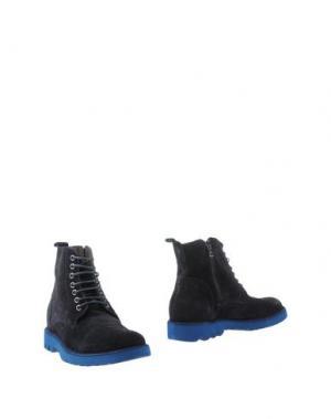 Полусапоги и высокие ботинки GABARDINE. Цвет: темно-синий