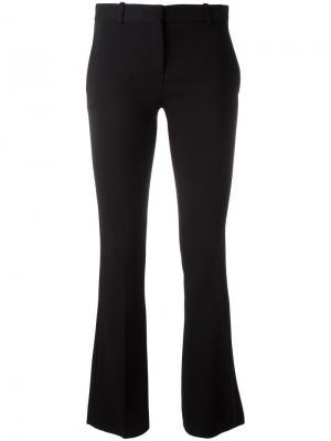 Классические расклешенные брюки Versace. Цвет: чёрный